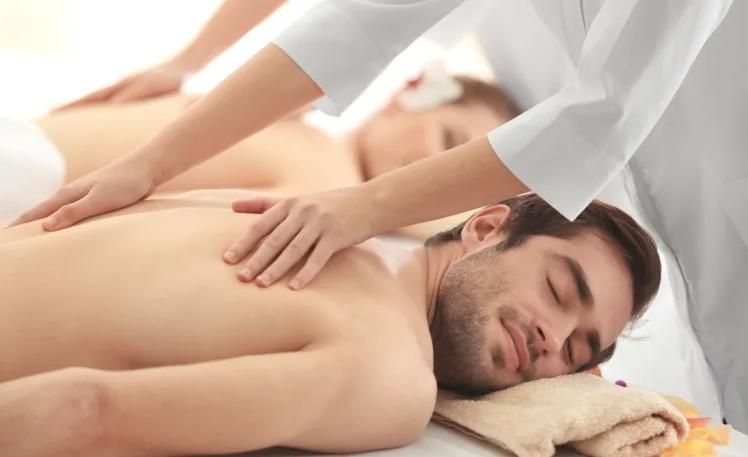 man-massage